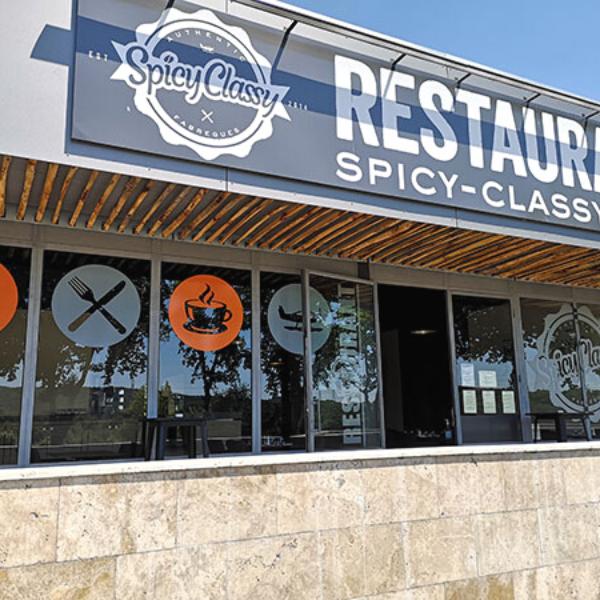 restaurant spicy classy