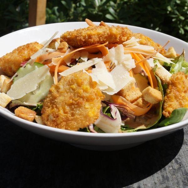 salade repas croustillante spicy classy